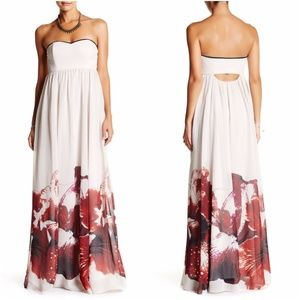 Free People Ophelia Floral maxi Dress